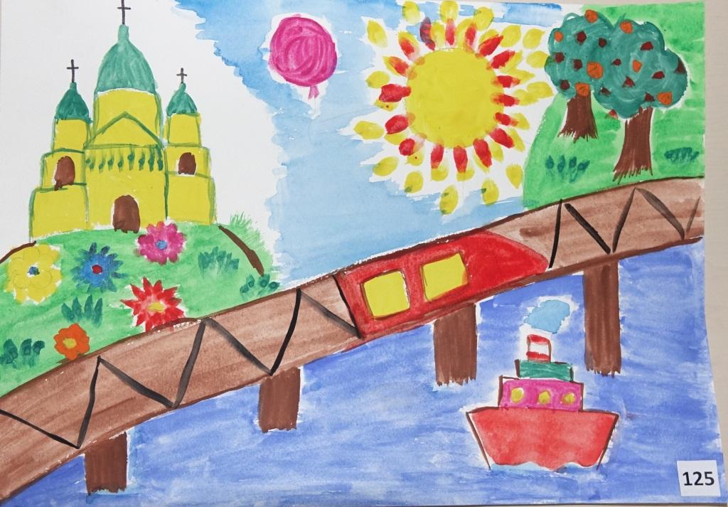 мой любимый город рисунки челябинск